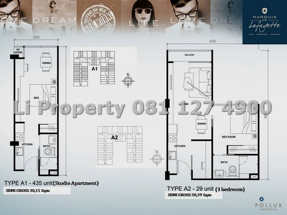 dijual-apartment-marquise-de-lafayette-mdl-pemuda-tengahkota-semarang-liproperty-hanna-li-rumah123-olx-urbanindo